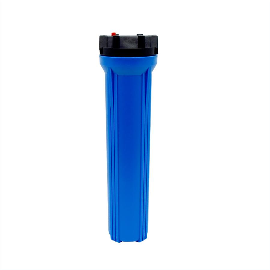 [FH-B50012T]플라스틱 카트리지 하우징 블루 길이 500mm 15A(1/2)