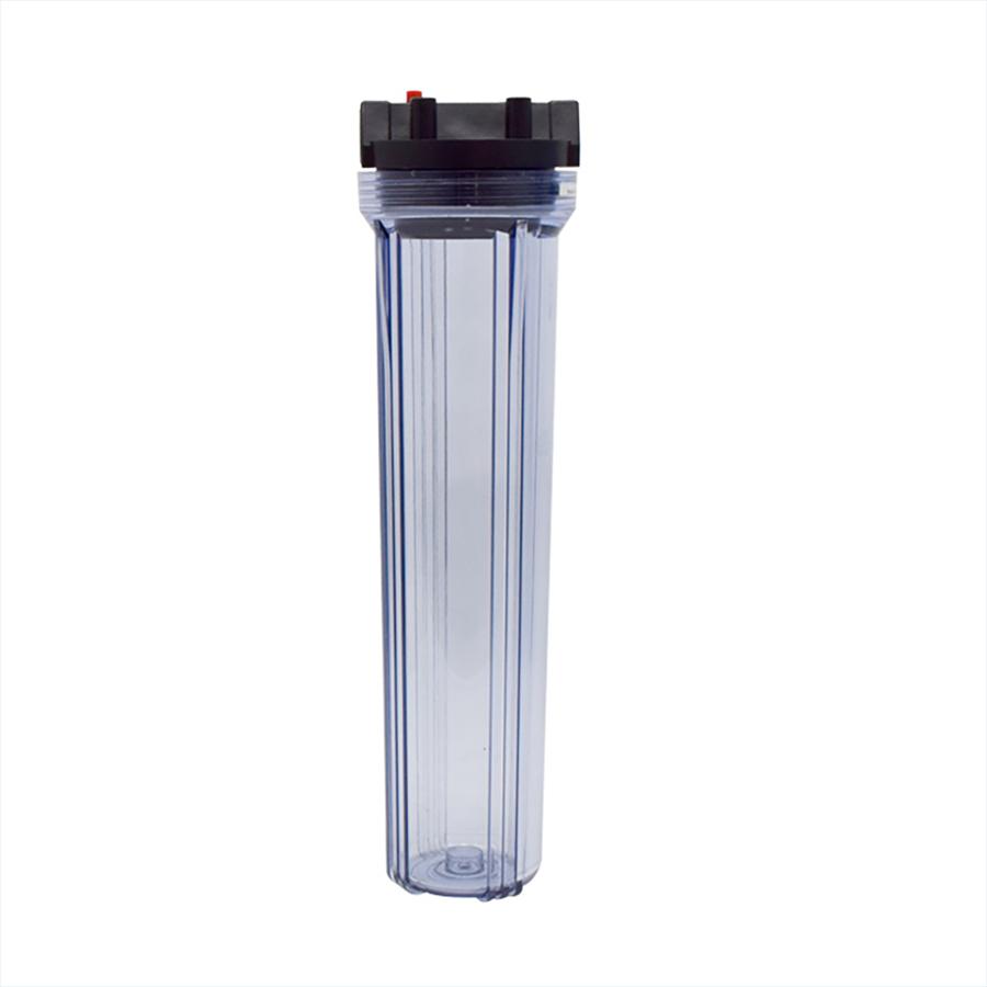 [FH-C50001]플라스틱 카트리지 하우징 투명 길이 500mm 25A(1)