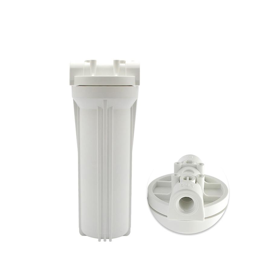 [FH-W25012]언더씽크 카트리지하우징 백색하우징 250mm 15A(1/2)  정수기부품