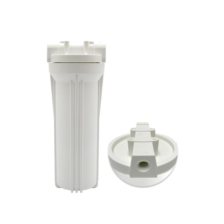 언더씽크 카트리지하우징 백색하우징 250mm 8A(1/4) 정수기부품